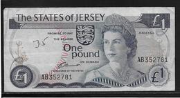 Jersey - 1 Pound - Pick N°11a  - TB - Jersey