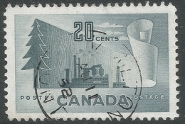 Canada. 1952 Forestry Products. 20c Used. SG 441 - 1952-.... Reign Of Elizabeth II