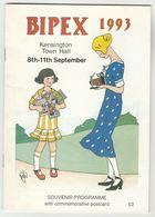 1993 BIPEX  SOUVENIR PROGRAMME Kensington Town Hall Postcard Exhibition - Books