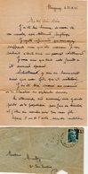VP12.265 - Guerre 39 / 45 - Lettre De Mr R. NEGRI à HAYANGE ( Récit ) - Manuscripts