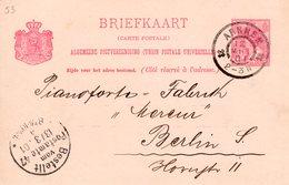 12 MRT 01  Grootrond Arnhem Op Bk Naar Berlin - Periode 1891-1948 (Wilhelmina)