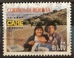 BOLIVIA 1996 CARE, Co-operative For American Relief Everywhere. USADO - USED. - Bolivia