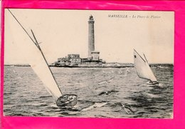 Cpa Carte Postale Ancienne  - Marseille Le Phare De Planier - Marsella