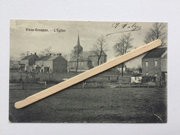 GENAPPE,VIEUX-GENAPPE»L'ÉGLISE «Panorama (1908). - Genappe