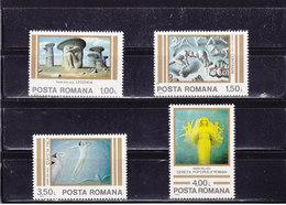 ROUMANIE 1982 ARTS Yvert 3400-3403 NEUF** MNH - 1948-.... Républiques