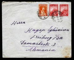 A5535) Türkei Turkey Brief Stamboul 24.10.28 N. Freiberg / Germany - Covers & Documents