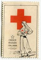 ERINNOFILO CHIUDILETTERA CROCE ROSSA ITALIANA - Cinderellas