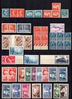 France Très Belle Collection Neufs ** MNH 1924/1943. Uniquement Bonnes Valeurs. TB. A Saisir! - Sammlungen