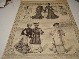 ANCIENNE PUBLICITE GRANDS MAGASIN SAMARITAINE 1902 - Vintage Clothes & Linen