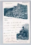 Tiflis Anciennepartie De La Ville, Marchand De Fruits Armenien Litho 1900 OLD POSTCARD 2 Scans RARE - Georgia