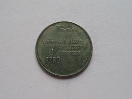 1 AFRO - BROEDERLIJK DELEN INVESTEERT IN AFRIKA ( 8,7 Gr. - Details, Zie Foto ) ! - Tokens & Medals