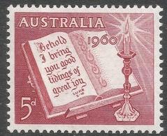 Australia. 1960 Christmas. 5d MH. SG 338 - 1952-65 Elizabeth II : Pre-Decimals