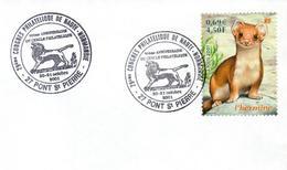 Enveloppe 1er JOUR - 30 ème Anniversaire Du Cercle Philatélique De Pont-Saint-Pierre 27360 - 20-21 Octobre 2001 Dessin - FDC