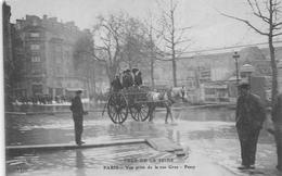 ¤¤  -  PARIS  -  Crue De La Seine  -  PASSY  -  La Rue Gros  -  Inondation    -  ¤¤ - Arrondissement: 16