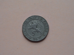 1861 FR - 20 Centimes ( KM 20 ) ( Zie Foto )  ! - 1831-1865: Léopold I
