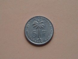1958 - 5 Franc Ruanda-Urundi ( KM 3 ) ( Zie Foto )  ! - Congo (Belgian) & Ruanda-Urundi