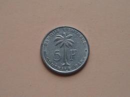 1958 - 5 Franc Ruanda-Urundi ( KM 3 ) ( Zie Foto )  ! - Congo (Belge) & Ruanda-Urundi