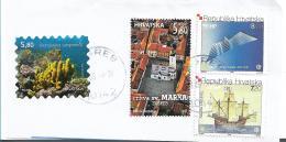 Kroatien 002 / Fragment Mit 4 Marken 2018 - Kroatien