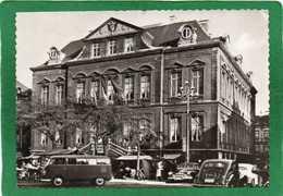 LIEGE -La VIOLLETTE  Place Du Marche Et Hotel De Ville,année 1954 TRES ANIMEE VOITURES D'EPOQUE état Impeccable - Liege