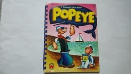 Popeye A Sculptured Cover Book Wonder Books 1955 Enfantina - Children's