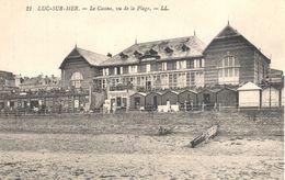 (14) Calvados - CPA - Luc-sur-Mer - Le Casino, Vu De La Plage - Luc Sur Mer
