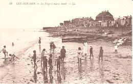 (14) Calvados - CPA - Luc-sur-Mer - La Plage à Marée Haute - Luc Sur Mer