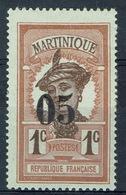 Martinique, Martiniquaise Woman, 05/1c, 1920, MH F - Martinique (1886-1947)