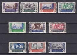 MARRUECOS AÑO 1946 ARTESANIA, EDIFIL Nº 260 A 269* * (NUEVOS) - Marruecos Español