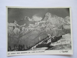 Mt Everest From Sandarkphu   Darjeeling - Népal