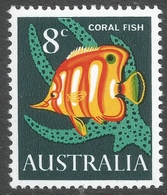 Australia. 1966-73 QEII Definitives. 8c MH SG 389 - Mint Stamps