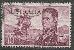 Australia. 1963-65 Definitives. 10/- Used. SG 358 - 1952-65 Elizabeth II : Pre-Decimals