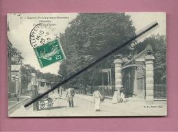 CPA - Saint Valéry Sur Somme - ( Somme ) - Entrée Du Casino - Saint Valery Sur Somme