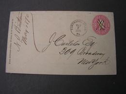 USA GS 1870 Tobyhanna - Ganzsachen