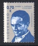 6.- SLOVAKIA 2018 Personalities: Karol L. Zachar (1918 – 2003)  ACTOR AND DIRECTOR - Cinéma