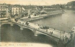 Cpa -   Epinal -  Le Pont De Pierre   ,animée                    E1545 - Epinal
