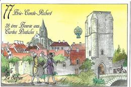 77 Brie-Compe-Robert  - 28°  Bourse Aux Cartes Postales.2012 - Beursen Voor Verzamellars