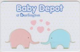 GIFT CARD - USA - BURLINGTON-121 - ELEPHANT - Gift Cards