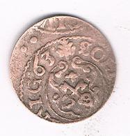 SCHILLING  1663  LIVONIA LETLAND /3362G/ - Latvia