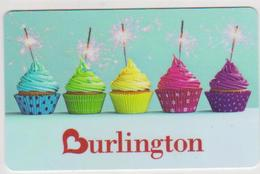GIFT CARD - USA - BURLINGTON-??? - MUFFINS - Gift Cards