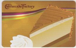 GIFT CARD - USA - CHEESECAKE FACTORY-020 - Gift Cards