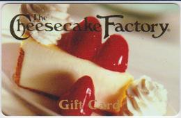 GIFT CARD - USA - CHEESECAKE FACTORY-003 - Gift Cards