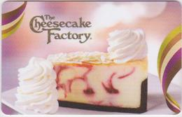 GIFT CARD - USA - CHEESECAKE FACTORY-022 - Gift Cards