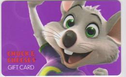 GIFT CARD - USA - CHUCK E. CHEESE'S-002 - Gift Cards