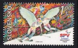 3.- SLOVAKIA 2018 The XII Winter Paralympic Games In PyeongChang - Juegos Olímpicos