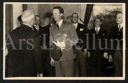 Postcard / ROYALTY / Belgique / België / Roi Leopold III / Koning Leopold III / Séance Cercle Royal Africain / 1939 - Beroemde Personen
