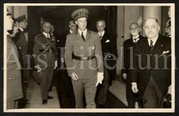 Postcard / ROYALTY / Belgique / België / Roi Leopold III / Koning Leopold III / Heizel / Adolphe Max / 1939 - Beroemde Personen