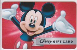 GIFT CARD - USA - DISNEY-0537 - MICKEY - Gift Cards