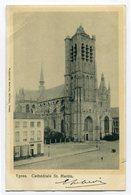 CPA - Carte Postale - Belgique - Ypres - Cathédrale Saint Martin - 1903 (CP3680) - Ieper