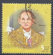 Thailand 2007. Scott #2334h (U) King Bhumibol Adulyadej, 80th Birthday * - Thaïlande