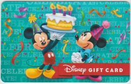 GIFT CARD - USA - DISNEY-???? - MICKEY - Gift Cards